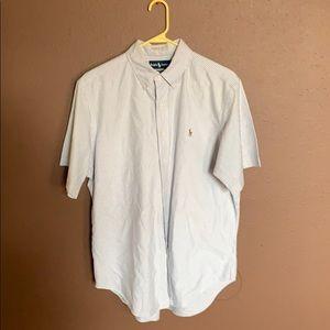 Polo by Ralph Lauren short sleeve button down L